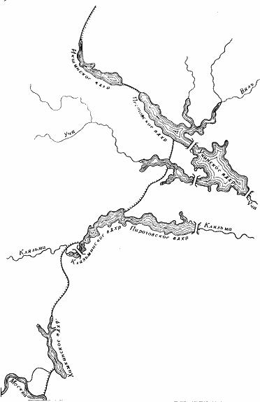 Рельеф этих рек отличается