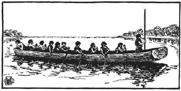 как первобытные люди выдалбливали лодки