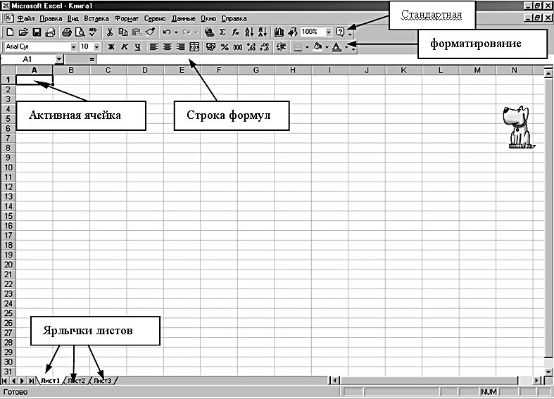 Как связать таблицы excel листах