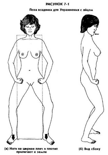 Упражнения для управления сексуальной энергией