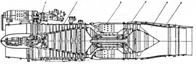 Схема двигателя АМ-5А