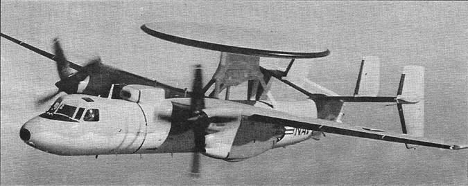 Самолет дрло e-2 hawkeye