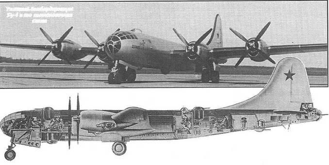 Тяжелый бомбардировщик Ту-4 и