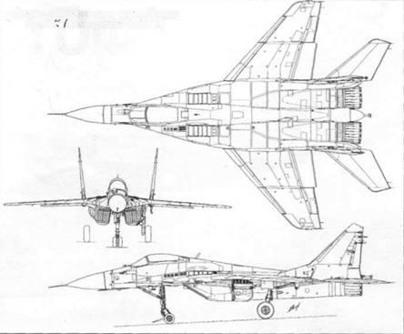 Схема корабельного истребителя