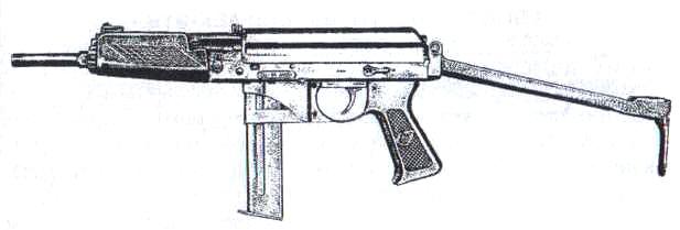 """Упрощенный пистолет-пулемет 9а91 под патрон 9x19 мм """"Парабеллум"""" с"""