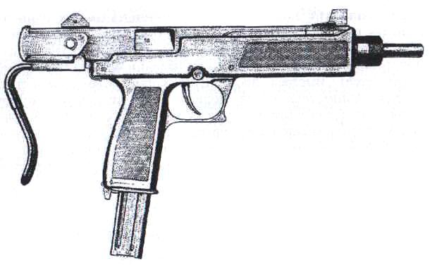 Пистолеты пулеметы аек 919 и аек 919к